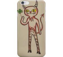 Lucky Devil iPhone Case/Skin