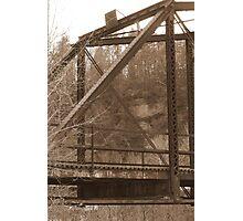 Bridge to Nowhere (Sepia) Photographic Print