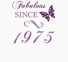 1975 Fabulous Birthday Womens Fitted T-Shirt