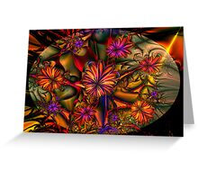Flowered Bush Greeting Card