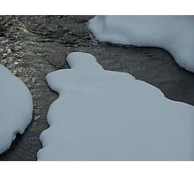 Marshmellow Stream Photographic Print