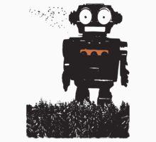 Robot Forest T-shirt T-Shirt