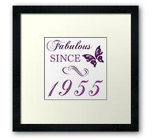 1955 Fabulous Birthday Framed Print