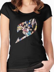 Fairy Tail Logo WITH COLOR!!! :D Women's Fitted Scoop T-Shirt