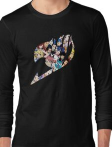 Fairy Tail Logo WITH COLOR!!! :D Long Sleeve T-Shirt