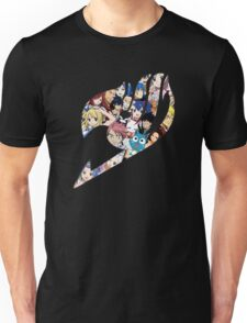 Fairy Tail Logo WITH COLOR!!! :D Unisex T-Shirt