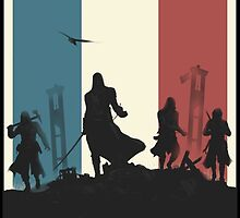 Assassins Creed Unity Beautiful Art by Solbessx