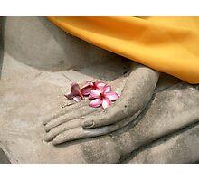 buddhist offering, thailand Photographic Print