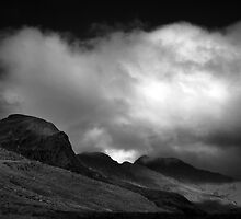 Crinkle Crags forboding a storm by BulletMa9net