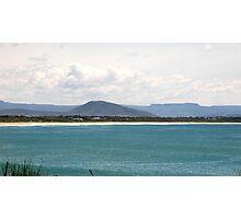 Culburra Beach with Coolangatta Mountain Photographic Print