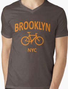 I Bike Brooklyn Mens V-Neck T-Shirt