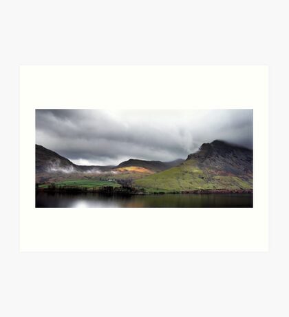 Wastwater from the screes Art Print