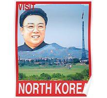 Visit NORTH KOREA Travel Poster Poster