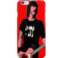 Dave Grohl - Red Classic iPhone Case/Skin