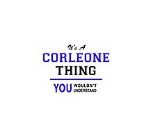 It's a CORLEONE thing, you wouldn't understand !! by yourname