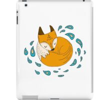Sleepy fox iPad Case/Skin
