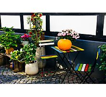 Colorful Chairs Photographic Print