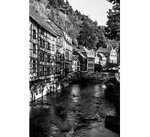 Monschau Bridge Photographic Print