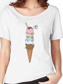 OctoCream Women's Relaxed Fit T-Shirt