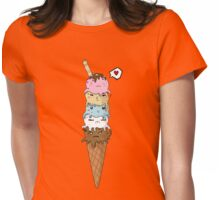 OctoCream Womens Fitted T-Shirt