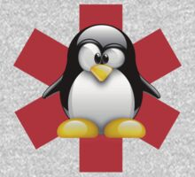 LINUX TUX PENGUIN HOSPITAL by SofiaYoushi