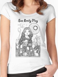 See Emily Play Tee Women's Fitted Scoop T-Shirt