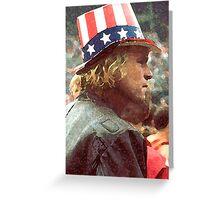 Patriot Act Greeting Card
