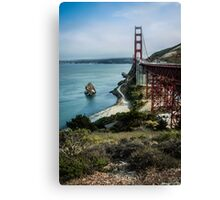 Golden Gate Bridge Vista Canvas Print