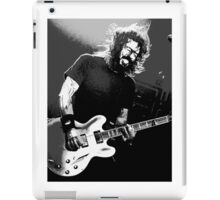 Dave Grohl - Black Rocking Out iPad Case/Skin