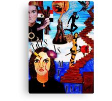 STORY OF MY LIFE Canvas Print