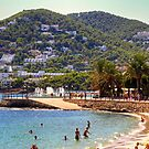 Santa Eulalia Beach by Tom Gomez