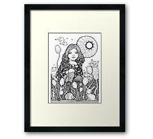 See Emily Play Framed Print