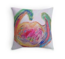 World of Wine Throw Pillow