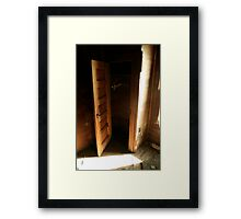 Dont Hide In The Closet Framed Print