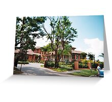 A  BEAUTIFUL MANSION IN FORT MYERS  Greeting Card