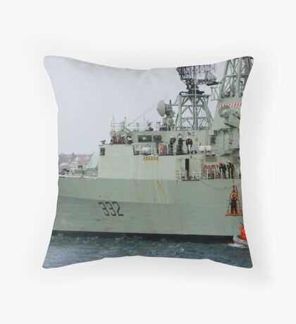 Personnel Transfer Throw Pillow