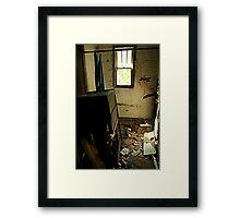 Trashed Framed Print