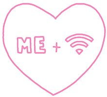 me + wifi heart by Xeph