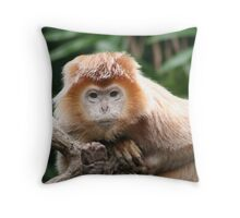 Moment of Contact Throw Pillow