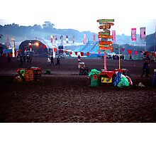 Dawn of a New Glasto Day Photographic Print