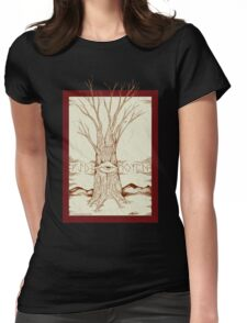 Mystic Tree Womens Fitted T-Shirt
