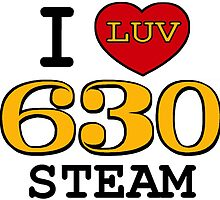 I LUV SOUTHERN STEAM #630 by TrainmasterBob