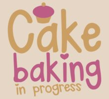 Cake baking in progress by jazzydevil