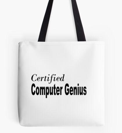 Computer Genius Tote Bag
