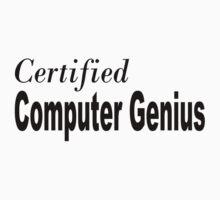 Computer Genius Kids Tee