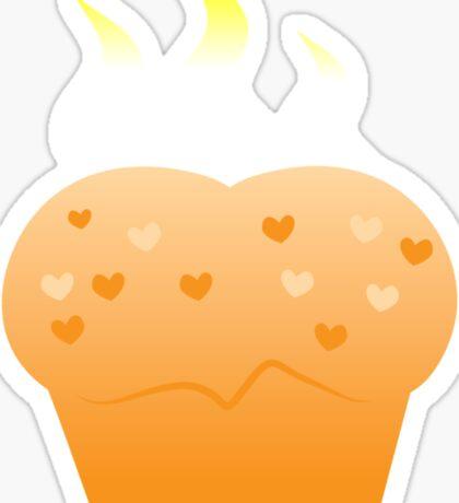 Baking steamy Hot Buns Sticker
