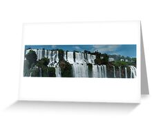 Iguazu panorama Greeting Card