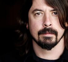 Foo Fighters Dave Grohl Portrait by FooFighters