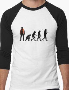 Back to the future past future past Men's Baseball ¾ T-Shirt