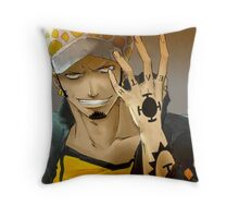 Trafalgar Law Throw Pillow
